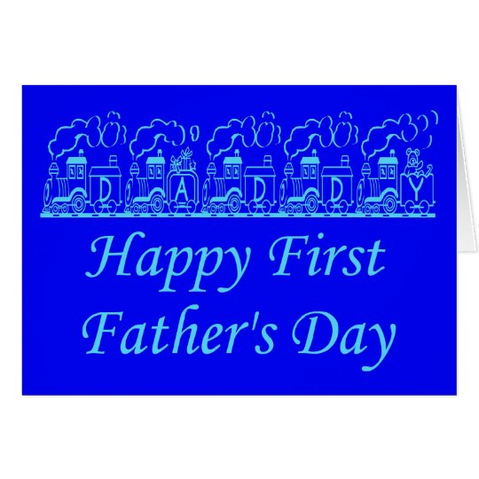 HAPPY FATHER'S DAY - FIRST FATHER'S DAY CARD