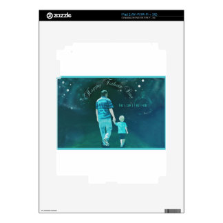 Happy Fathers Day, First Hero iPad 2 Skins