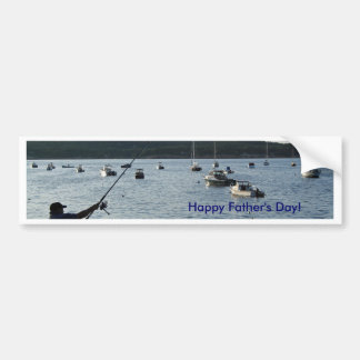 Happy Father's Day!  Fishers of men! Car Bumper Sticker