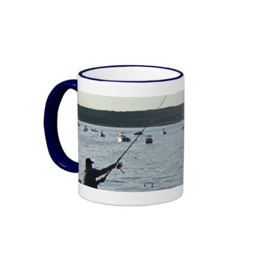 Happy Father's Day!  Fishers of men! Ringer Coffee Mug