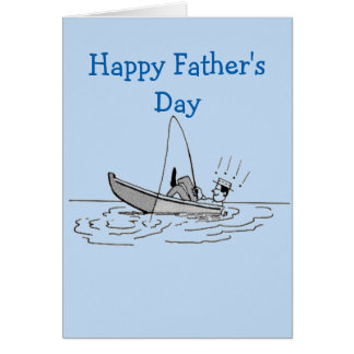 Happy fathers day fishing cards greeting photo cards for Father s day fishing card