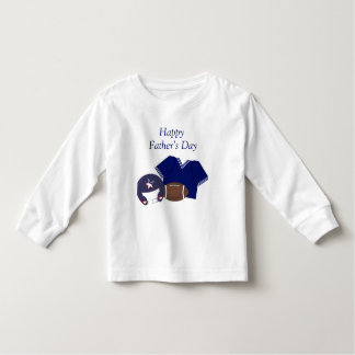 Happy Father's Day (football - blue) Toddler T-shirt