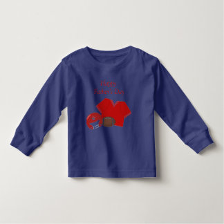 Happy Father's Day (football - red) Toddler T-shirt