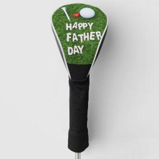 Happy Father's Day for golfer Golf Head Cover