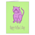 Happy Father's Day From Cat Cards