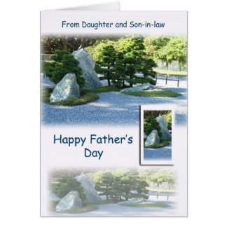 Happy Father's Day - From Daughter and Son-in-law Card