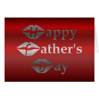 HAPPY FATHER'S DAY - FROM WIFE TO HUSBAND GREETING CARD