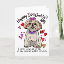 Happy Father's Day from your Shih Tsu Pup Card