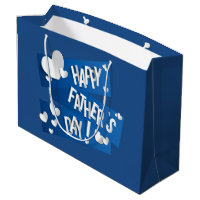 Happy Father's Day - Gift Bag Large
