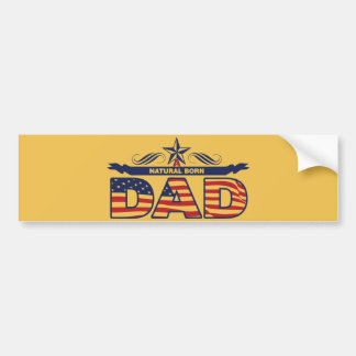 Happy Father's Day Gifts Bumper Sticker