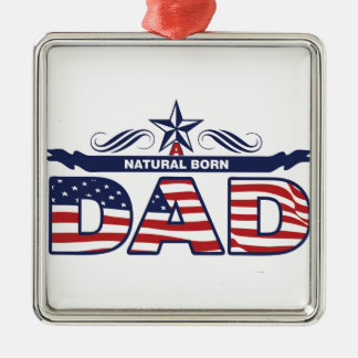 Happy Father's Day Gifts Metal Ornament