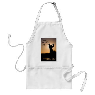 Happy Fathers Day Golf Adult Apron