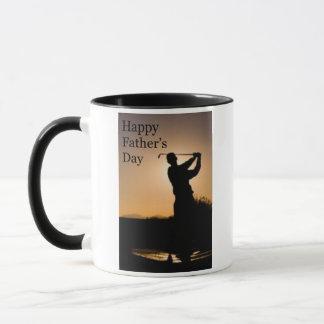 Happy Fathers Day Golf Mug