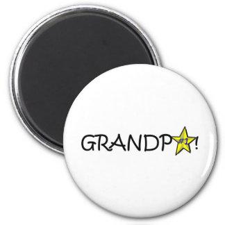Happy Father's Day, Grandpa! 2 Inch Round Magnet