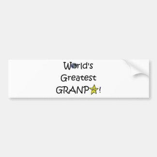 Happy Father's Day, Grandpa! Bumper Sticker