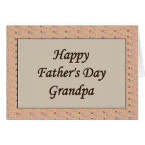 Happy Father's Day Grandpa Card