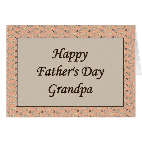 Happy Father's Day Grandpa Card