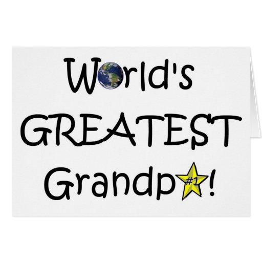 Happy Father's Day, Grandpa! Greeting Card | Zazzle