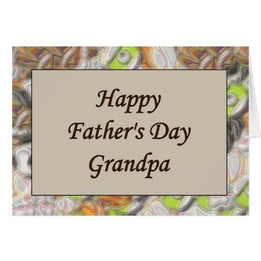 Happy Father's Day Grandpa Greeting Card | Zazzle