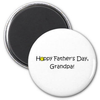 Happy Father's Day, Grandpa! Magnet