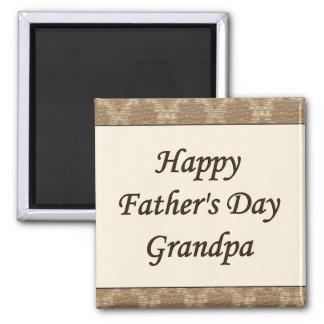 Happy Father's Day Grandpa Magnet