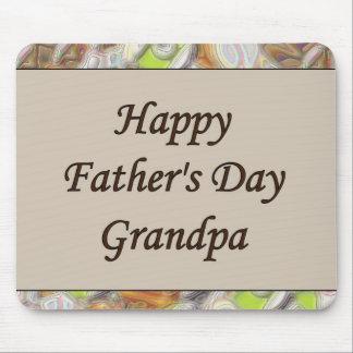 Happy Father's Day Grandpa Mouse Pad