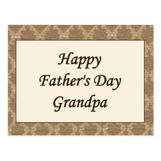 Happy Fathers Day Grandpa Postcards | Zazzle