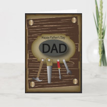 Happy Father's Day | Handyman Card