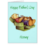 Happy Father's Day Honey  Card (Blank)