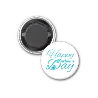 Happy Fathers Day Imán Redondo 3 Cm