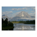 Happy Father's Day Jackson Hole River Card