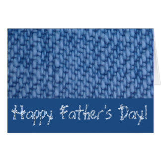 Happy Father's Day/Jean look card