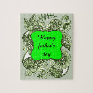 Happy Father's Day Jigsaw Puzzle