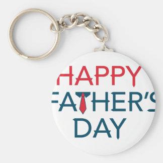 Happy Fathers Day Keychain
