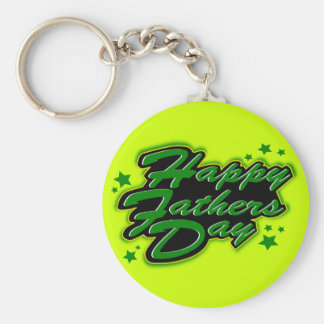 HAPPY FATHERS DAY KEYCHAIN