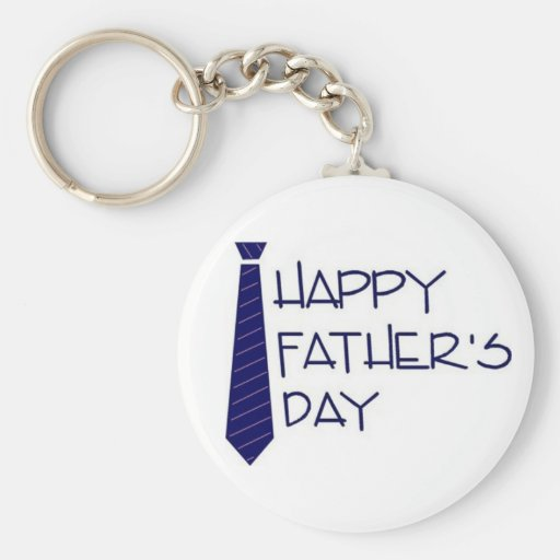 Happy Fathers Day Key Chain