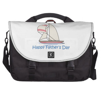HAPPY FATHERS DAY LAPTOP MESSENGER BAG
