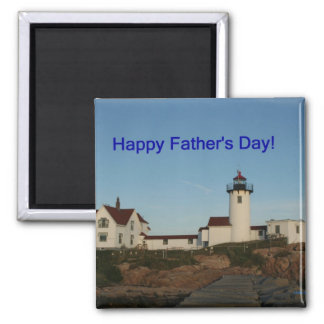 Happy Father's Day, Lighthouse Magnet