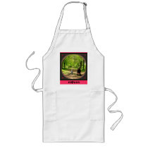 HAPPY FATHERS DAY LONG APRON