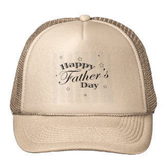 Happy Father's Day Message Hat