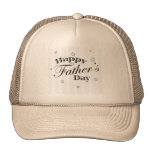 Happy Father's Day Message Trucker Hat