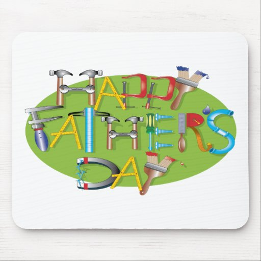 Happy Fathers Day Mouse Pad