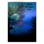 Happy Father's Day MT Lake Card