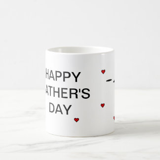 Happy Father's Day 11 Oz Magic Heat Color-Changing Coffee Mug