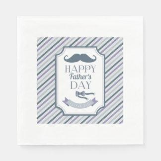Happy Father's Day Napkin