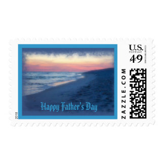 Happy Father's Day-Ocean days Postage Stamps