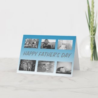 Happy Father's Day, personalized Photos Card