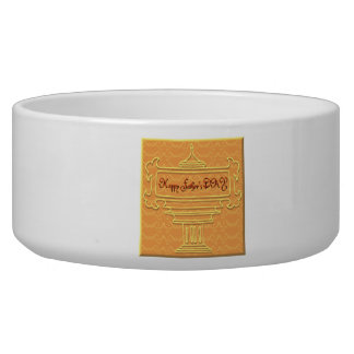 Happy Fathers Day Pet Food Bowls