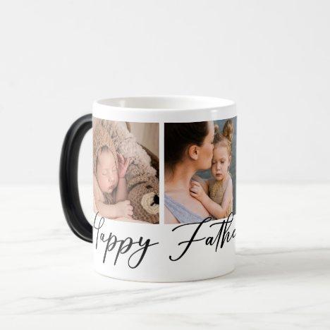 Happy Father's Day Photo Magic Mug