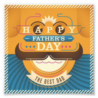 Happy Father's Day Photo Print